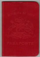 Chile 1965 Passport Reisepass Passeport Pasaporte #006241 - Historical Documents