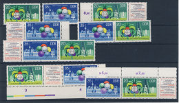 Lot DDR ZD Michel No. 2345 - 2346 /  W Zd 376 - 381 ** postfrisch