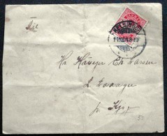 Denmark  1904  Letter From KRONBORG Helsingør To Kjøge 14-10-1904( Lot 1431 ) - 1864-04 (Christian IX)