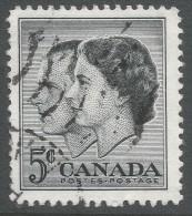 Canada. 1957 Royal Visit.. 5c Used - 1952-.... Reign Of Elizabeth II
