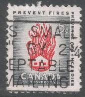 Canada. 1956 Fire Prevention Week. 5c Used - 1952-.... Reign Of Elizabeth II
