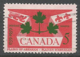 Canada. 1959 Bicentenary Of Battle Of Plains Of Abraham. 5c Used - 1952-.... Reign Of Elizabeth II