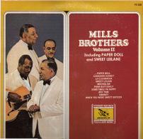 * LP *  THE MILLS BROTHERS VOLUME II (USA 1977 EX-!!!) - Jazz