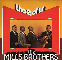 * 2LP *  THE MILLS BROTHERS - THE 2 OF US (Holland 1977 EX-!!!) - Jazz
