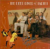 * LP *  DEEP RIVER QUARTET - STAR SPANGLED RHYTHM (Holland 1985 EX!!!) - Jazz