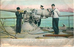 "Postcard (Ships) - US Navy Cruiser Buffalo ""Call To Breakfast"" - Guerra"