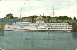 """Postcard (Ships) - Steamer """"City Of Bangor"""" - Passagiersschepen"""