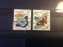 Australië / Australia - Serie Bedreigde Dieren Vlinders 1983 - 1980-89 Elizabeth II