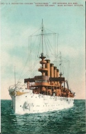 """Postcard (Ships) - US Protected Cruiser """"Milwaukee"""" - Guerre"""