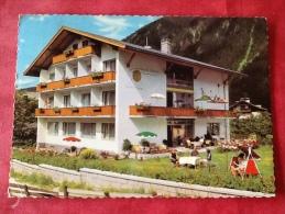 Österreich Hotel Pension SONNE Mayrhofen Zillertal -> Belgien. 1966 - Hotels & Gaststätten