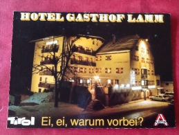 Österreich Hotel Lamm Tarrenz Tirol -> Belgien - Hotels & Gaststätten