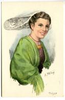 T/ Costumes Et Coiffes De Bretagne - Illustrateur : A. Thiry - Tregor - Unclassified