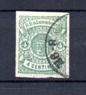 Armoirie, 36 A (4 Belle Marges), (signé Fédération Luxembourgeoise), Cote 150 € - 1859-1880 Wappen & Heraldik