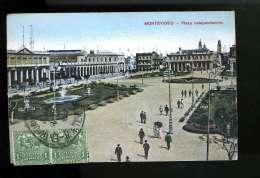R BTPYS URUGUAY Montevideo Plaza Independencia - Uruguay