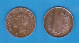 PORTUGAL (D.Manuel II 1908-1910) 5 Reis 1.910   Bronce  KM#555  MBC/VF   DL-10.723 - Portugal