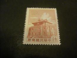 K8617- Stamp  No- Gum As Issued -  China- 1960- SC. 1270- Chu Kwang Tower- $0,03 It Red Brown - Nuovi