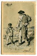 T/ Types Et Costumes De France  - Illustrateur : Homualk : Treboul - Homualk