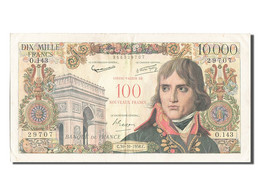 [#202829] 100 NF / 10 000 Francs Type Bonaparte, 30 Octobre 1958, Fayette 55.1 - 1955-1959 Sovraccarichi In Nuovi Franchi