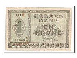 Norvège, 1 Krone Type 1940 - Norvège