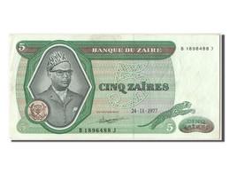 Zaïre, 5 Zaïres Type Mobutu - Zaïre