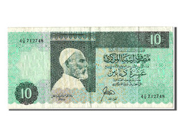 [#302857] Libye, 10 Dinars Type El-Mukhtar - Libye