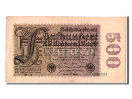 Allemagne, 500 Millions Mark Type 1923 - [ 3] 1918-1933 : Weimar Republic