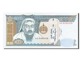 [#254382] Mongolie, 1000 Tugrik, Type Genghis Khan - Mongolia