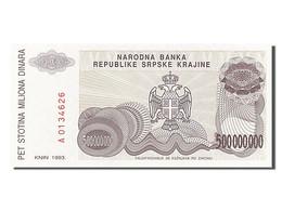 Croatie, 500 Millions Dinara, Type 1993 - Croatie