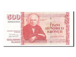 [#154273] Islande, 500 Kronur Type Sigurthsson - Islande