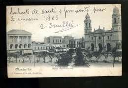 R BTPYS URUGUAY  MONTEVIDEO Plaza Constitucion - Uruguay