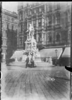 RARE CLICHE VERRE  ORIGINAL  DEBUT XX°         VIENNE        AUTRICHE - Plaques De Verre