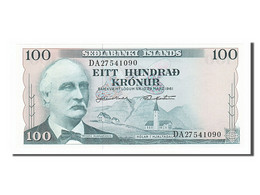 Islande, 100 Kronur Type Gunnarsson - Islande