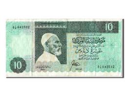 [#302856] Libye, 10 Dinars Type El-Mukhtar - Libya