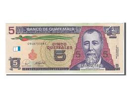 Guatemala, 5 Quetzales Type J. R. Barrios - Guatemala