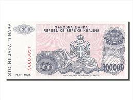[#254356] Croatie, 100 000 Dinara, Type 1993 - Croatia