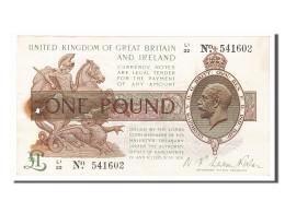 [#154321] Grande-Bretagne, 1 Livre Type 1928 - …-1952 : Before Elizabeth II