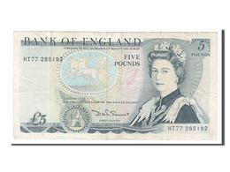 Grande-Bretagne, 5 Livres Type Elisabeth II - 1952-… : Elizabeth II