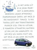 Reclame Uit Oud Magazine 1994 - Renault Twingo - Advertising