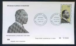 PJM164 - Mauritanie -    Pasreur Luther King - 4 Novembre 1968    - - Mauritania (1960-...)