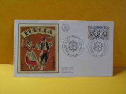 FDC- Europa CEPT - Paris - 2.5.1981 - 1er Jour, - Europa-CEPT
