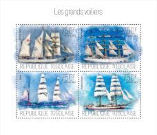 Tg13703a Togo 2013 Sailing Ships S/s - Togo (1960-...)