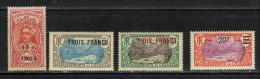 OCEANIE N° 65 à 68 * - Oceania (1892-1958)