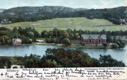 GÖTEBORG (Schweden), Slottsskogen Utsikt Fran Dansbanan, Gel.1908 - Schweden