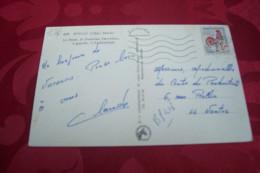 TIMBRE OBLITERATION FLAMME° ROYAN LA POSTE LE 28 07 1956 - Marcophilie (Lettres)