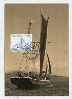 FAROER ISLAND - AK 188878 MC 9 Postverk Foroya - Smacks - Faroe Islands