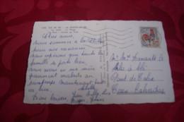 TIMBRE OBLITERATION FLAMME° ILE DE RE  1956 - 1961-....