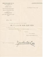 BRUCKWILDER & Co .   à ROTTERDAM  1898 - Pays-Bas