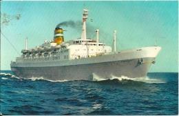 Postcard (Ships) - SS Statendam - Paquebots