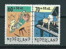 1992 Netherlands Combi 60+70 Cent Child Welfare,kinderzegels Used/gebruikt/oblitere - Periode 1980-... (Beatrix)