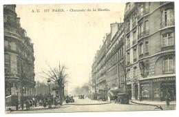 CPA  Paris,n°177,  Chaussée De La Muette, Automobiles, Colonne Morris, Grande Pharmacie,1934 - Paris (16)
